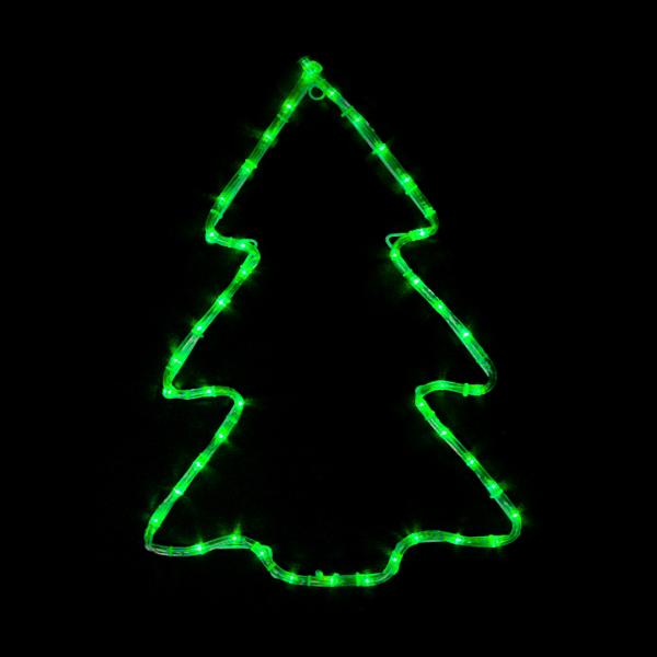 Гирлянда внешняя DELUX MOTIF Christmas Tree 0,6*0,45м 7 flash зеленый IP 44 EN