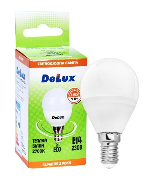 лампа светодиодная DELUX BL50P 7 Вт 2700K 220В E14 теплый белый