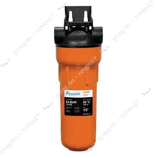 ECOSOFT Фильтр магистральный FPV12ECOНОТ 1/2 для горячей воды (с картриджем)