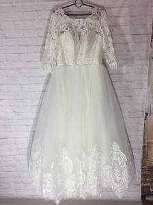 Фото Свадебные платья Свадебное платье для полных Амалия
