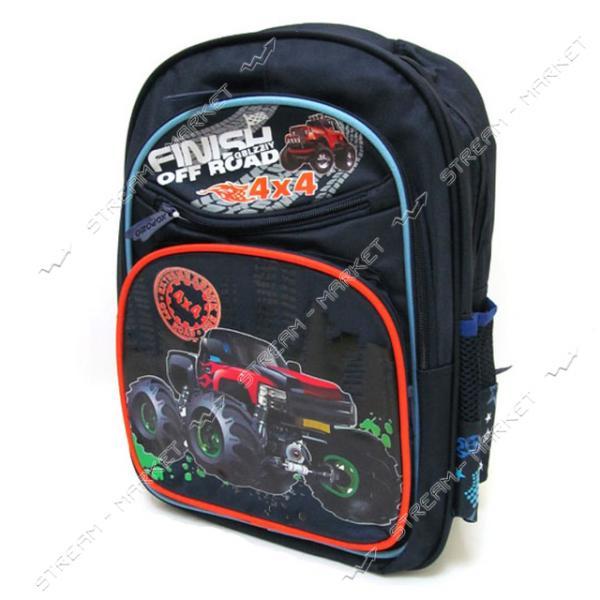 Рюкзак детский Big car 7230В 39х28х12 см рисунок в ассортименте