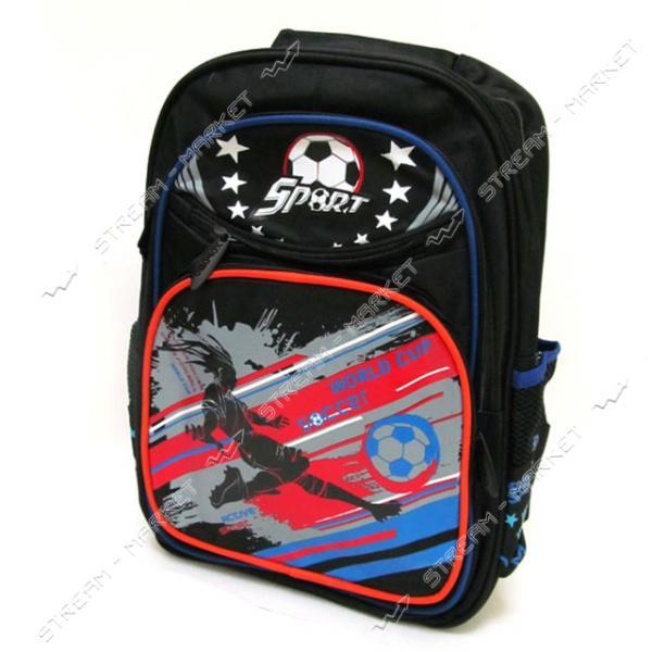 Рюкзак детский Soccer 7231B 39х28х12 см рисунок в ассортименте