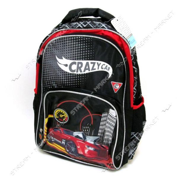 Рюкзак детский Crazy car DSCN0491 40х30х10 см рисунок в ассортименте