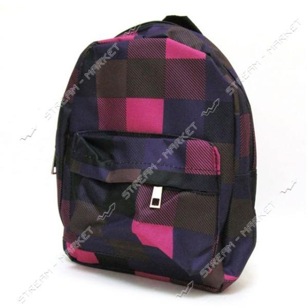 Рюкзак детский Пятнистый 0600-1 DSCN0600-S 27х21х9 см цвета в ассортименте