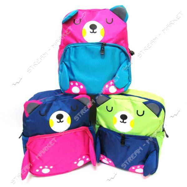 Рюкзак детский Bear DSCN2871 28х23х10 см цвета в ассортименте