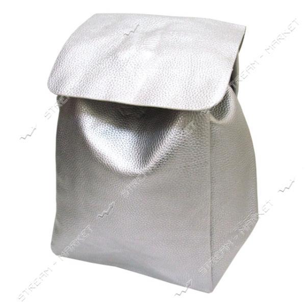 Рюкзак Серебро 2712 38х26х15 см серебро