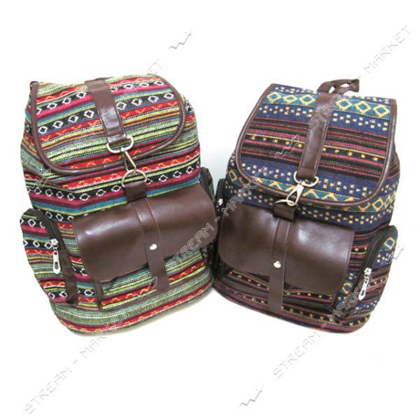Рюкзак Ромбики 6771 38х30х13 см цвета в ассортименте