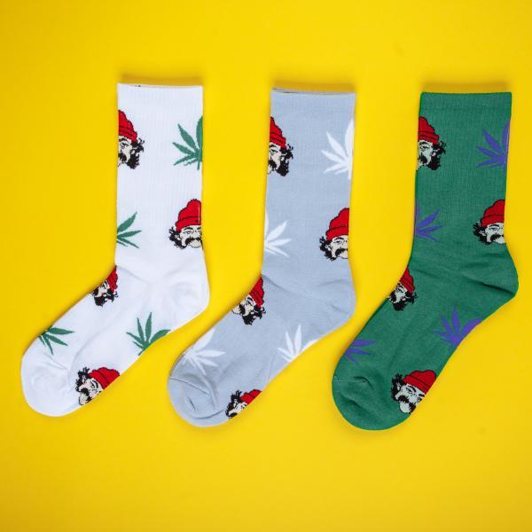 Шкарпетки Cheech & Chong Cheech&Chong light gray