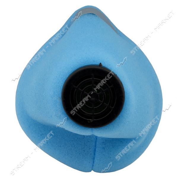 Респиратор У2К флизелин голубой или зелен. цвет 1-й сорт (DR-0000)