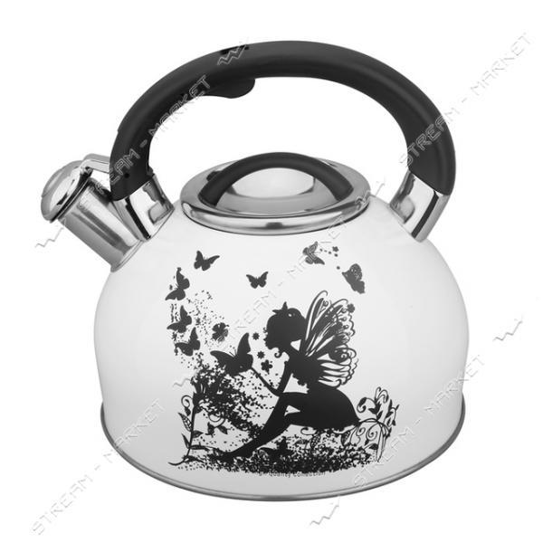 Чайник со свистком Maxmark MK-1310, 3л (меняет цвет при нагреве)
