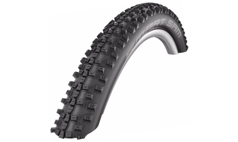 Фото ЧАСТИНИ КОЛЕСА, Покришки, 26 Покришка Schwalbe Smart Sam Performance 26˝x2.25˝ (57-559) B/B Addix