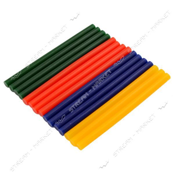 Стержни клеевые 11х180 мм цветные 240 г