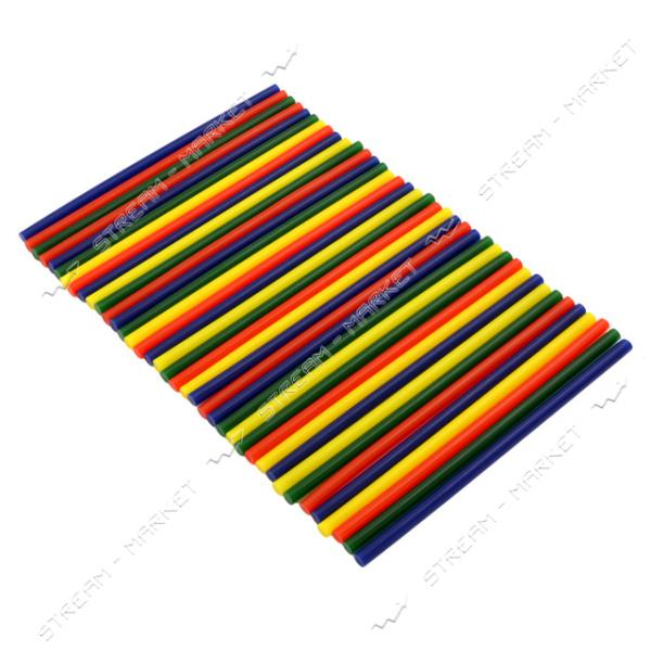 Стержни клеевые 8х180 мм цветные 250 г