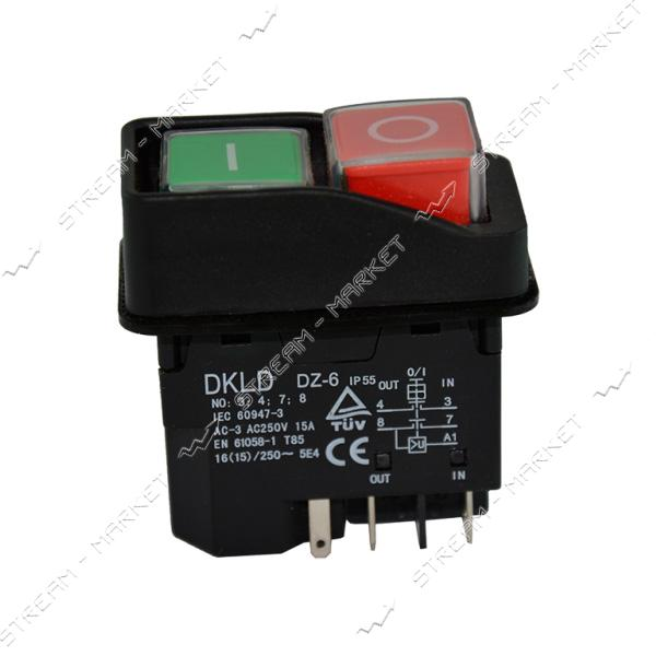 Кнопка на промышленные станки, бетономешалку 5 контакта (К-143А)