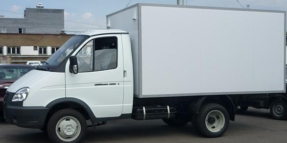 Газель Бизнес с промтоварным фургоном