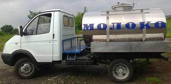 Молоковоз на шасси Газель