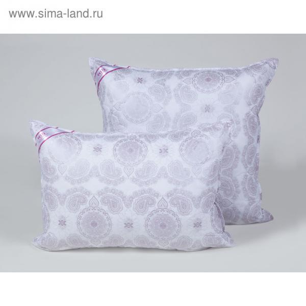 Подушка стёганная 50х70 см, шелкопряд, ткань тик, п/э 100%