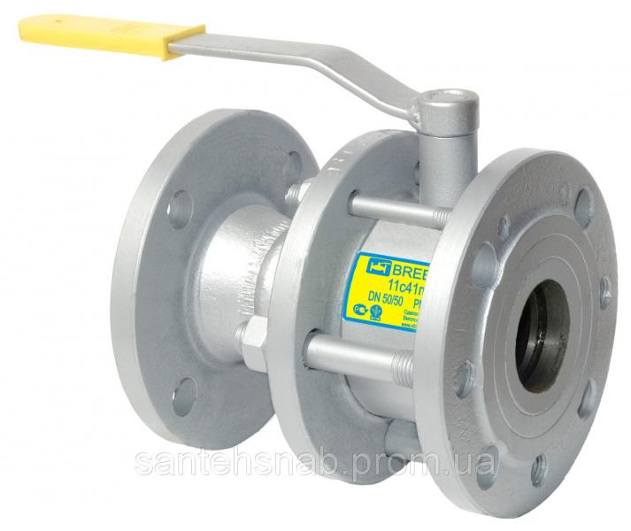 Кран шаровый стальной фланцевый 11с41п BREEZE серия Silver Ду50-400/300