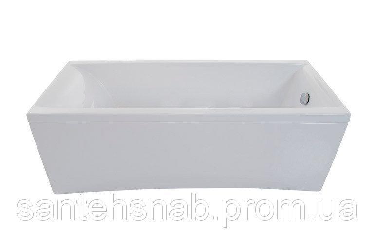 Ванна акриловая Джена 1600х700х540