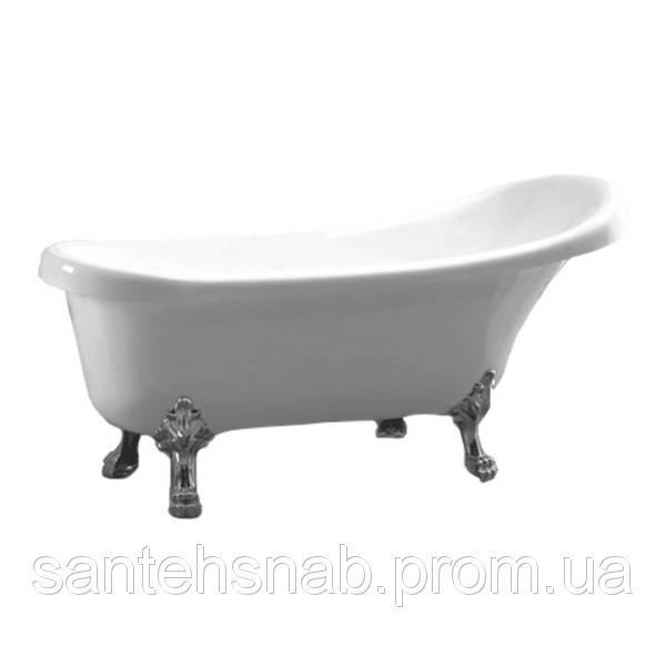 Акриловая ванна Atlantis C-3000 Серебро (с переливом) 170х74