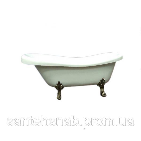 Акриловая ванна Atlantis C-3000 Белые (без перелива) 170х74