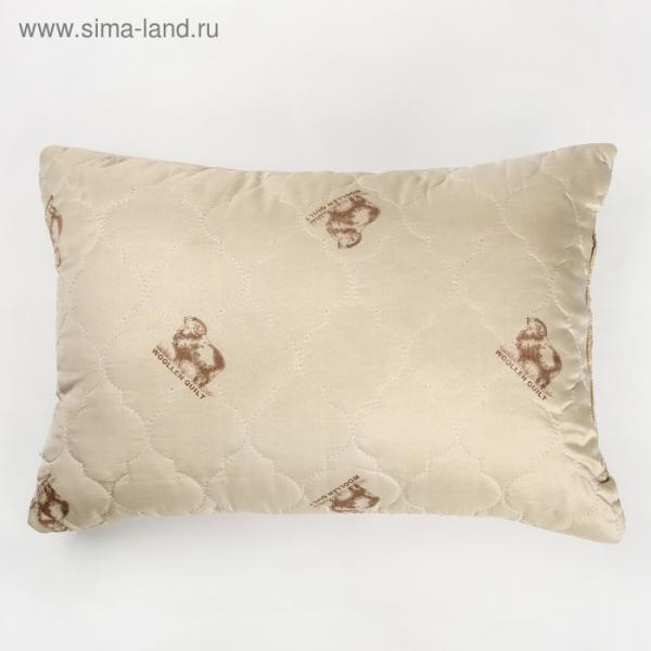 """Подушка Адамас """"Овечья шерсть"""", размер 50х70 см, чехол полиэстер"""