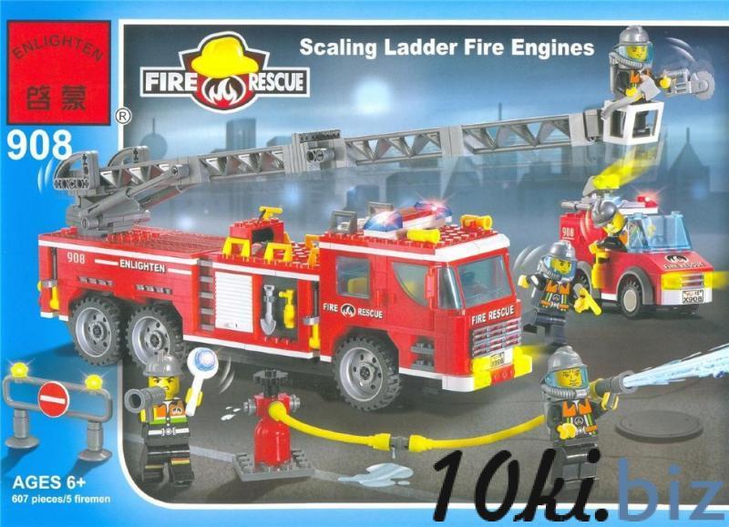 Конструктор Brick 908 Пожарная охрана - Конструкторы в магазине Одессы