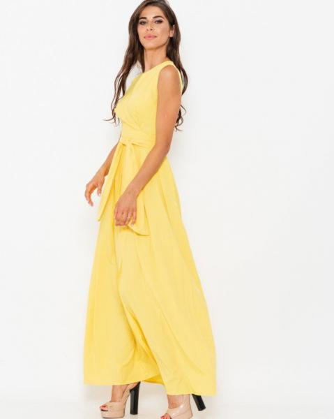 Фото  Платья ISSA PLUS 10909  L желтый