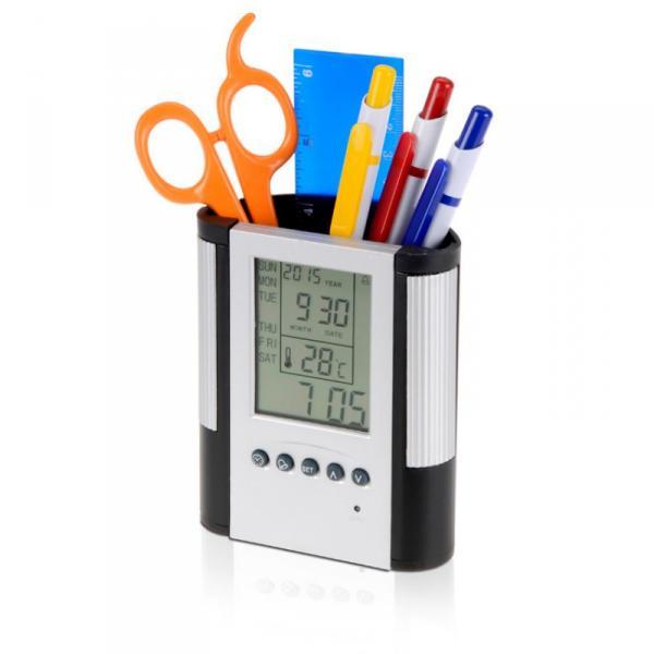 """Подставка для ручек-часы настольные """"Butler"""", Inspirion"""