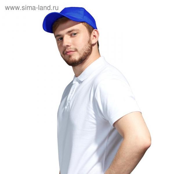 Бейсболка StanLight, one size, цвет синий 130 г/м