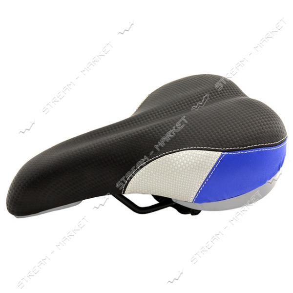 Сиденье на спортивный велосипед Скорпион синее
