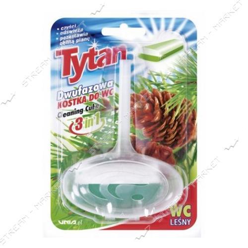 Двухфазный туалетный ароматизатор TYTAN Лесной корзинка 40г