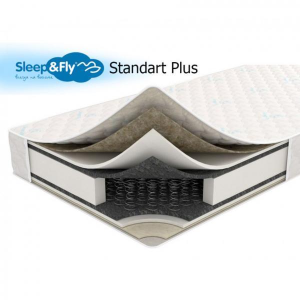 Ортопедический матрас Standart Plus Sleep&Fly