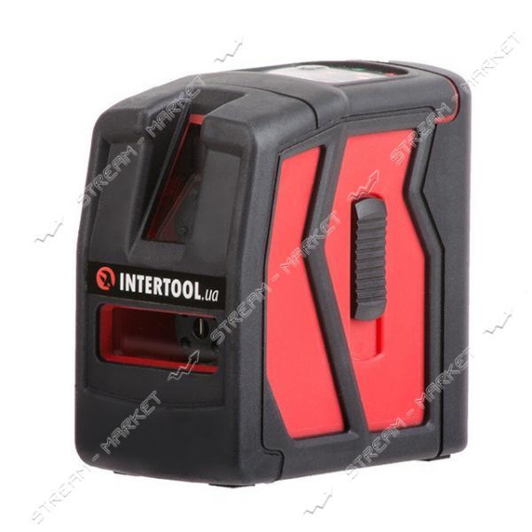 Уровень лазерный INTERTOOL MT-3050 мини 2 лазерные головки