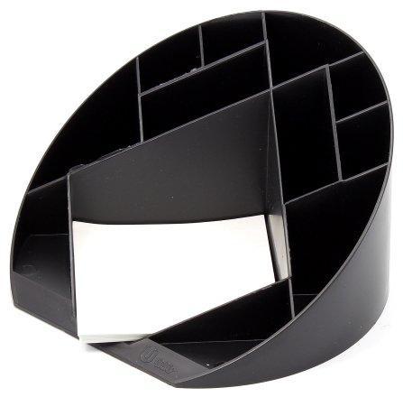 Подставка настольная «Форум» 100* 175 мм, черная