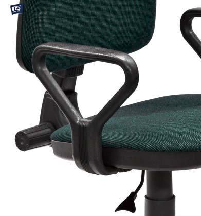 Стул офисный Prestige для персонала обивка - зеленая ткань, С32