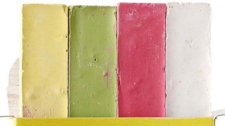Мелки школьные «Каляка-Маляка» 4 шт., 4 цвета