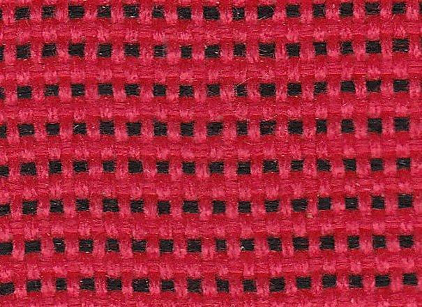 Стул офисный Iso black для посетителей обивка - красная ткань, С16