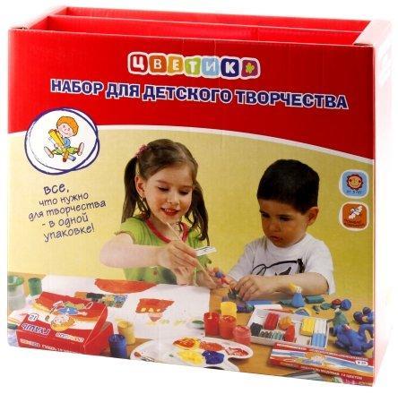 Набор для детского творчества «Цветик» 12 предметов