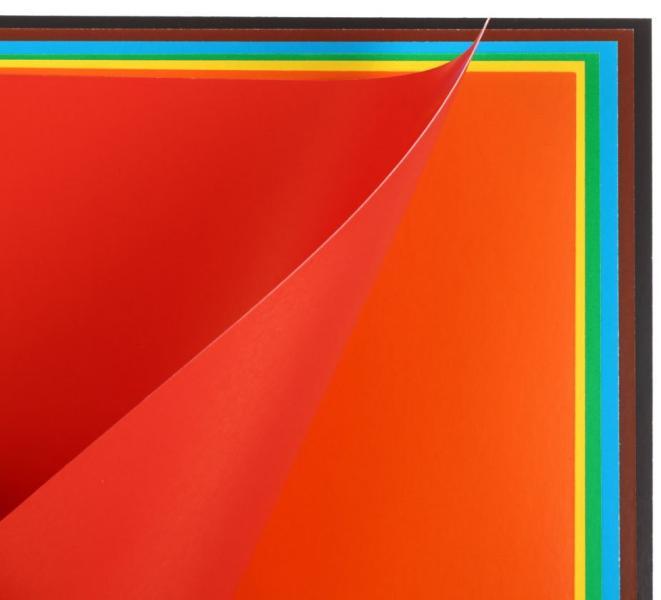 Картон цветной двусторонний А4 «Каляка-Маляка» 7 цветов, 7 л., мелованный