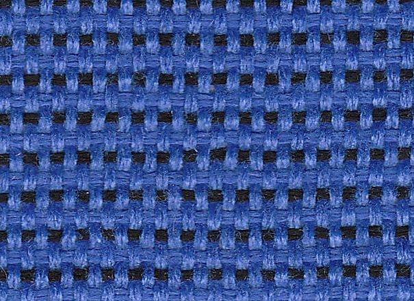 Стул офисный Iso black для посетителей обивка - синяя ткань, С14