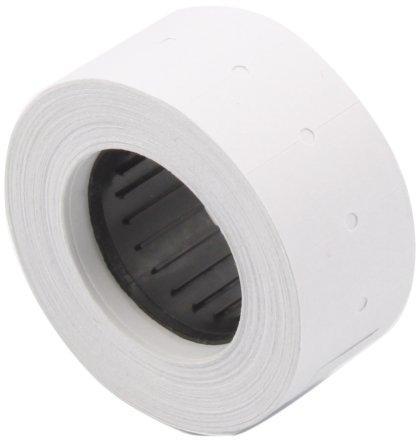 Этикет-лента однострочная 21*12 мм, белая