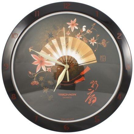 Часы настенные «Тройка» «Веер»