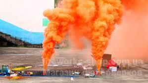 Фото Цветные дымы Дым MA0510/OРАНЖЕВЫЙ