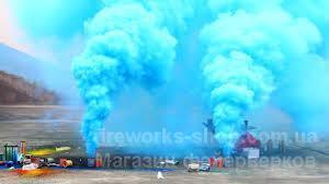 Фото Цветные дымы Дым MA0510/ГОЛУБОЙ