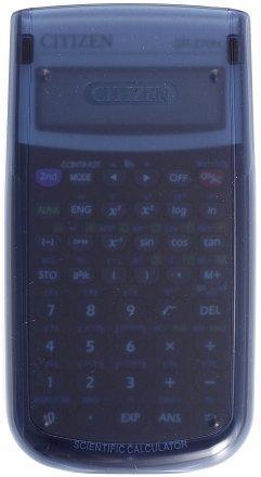 Калькулятор научный 10+2 разрядов Citizen SR-270N черный с серым