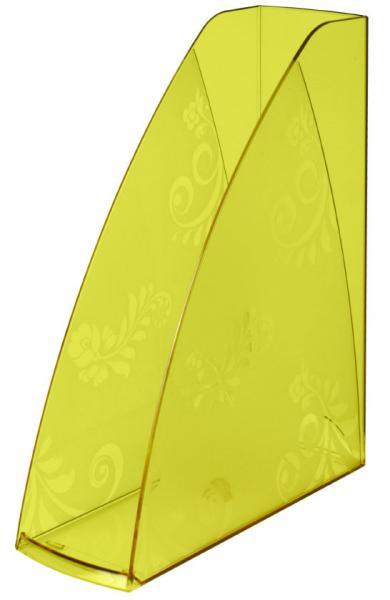 Лоток вертикальный «Русская серия» 290*240*85 мм, прозрачно-желтый