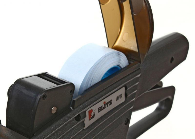Этикет-пистолет однострочный Blitz Maxi 6 6 символов