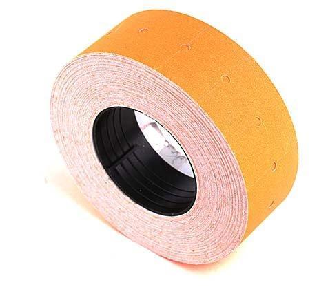 Этикет-лента однострочная Sponsor 22*12 мм, прямоугольная, оранжевая