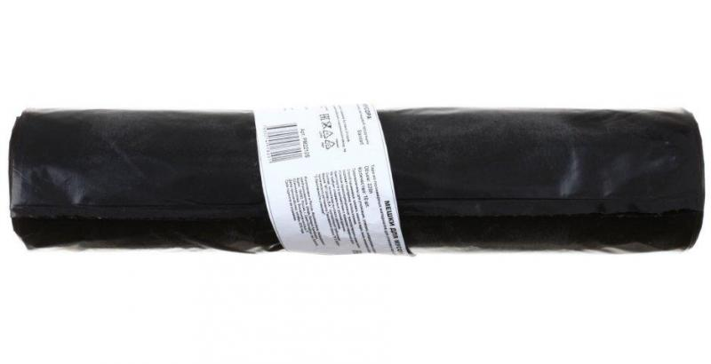 Пакеты для мусора 220 л, 10 шт., черные